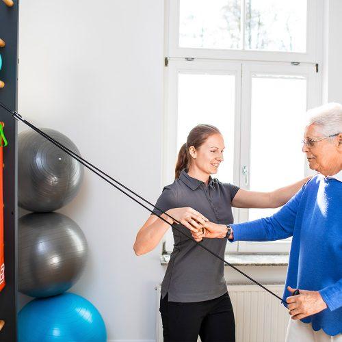 Physiotherapie in Kassel bei sanmova