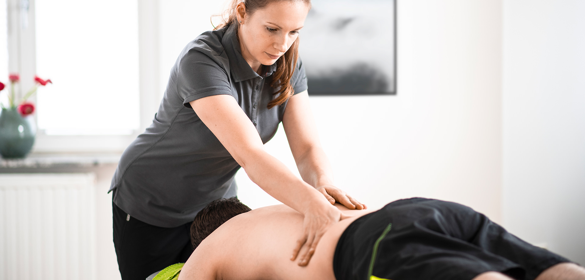 Physiotherapie in Kassel bei sanmova